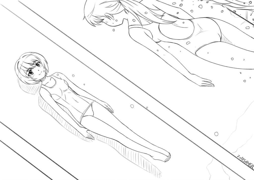 Cobalt Plus: Sadako and Chihaya by wave-lens