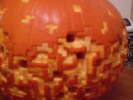 Tetris pumpkin 2 by see-through-silence