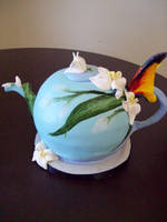 Teapot cake by see-through-silence