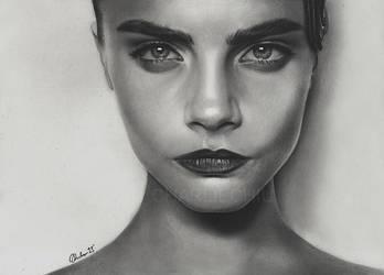 Cara Delevingne by Charlzton