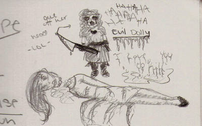 Evil Dolly by Evry1irksMe