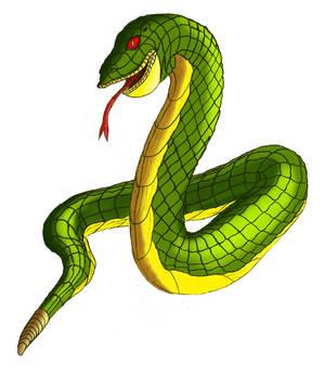 Green Rattlesnake by Vithsiny