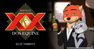 The Most Interesting Fox In The World by pandazooka