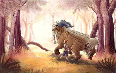 a boy and his beast by combustication