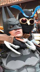 Batman VS Talon by CosplayDaigumi