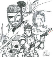 All In The Family - Metal Gear by RonaldTheBad