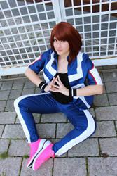 Ochako Uraraka My Hero Academia Cosplay by Lucy-chan90