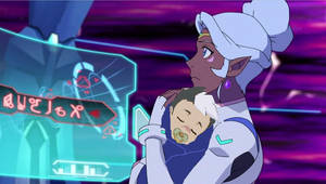 Allura Holding  Deaged Baby Shiro In Her Arms by shiroaltenking