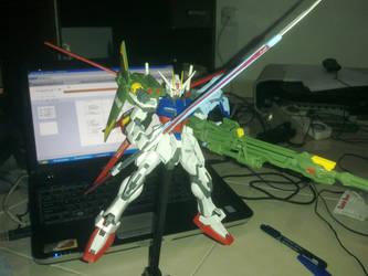 MG Strike Gundam tri striker by Zetra006