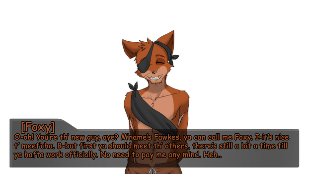 Part Time at Freddy's: Meeting Foxy by Nukude