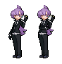 Pokemon Trainer Anabel - Trainer Sprite by IceJkai