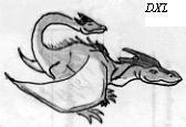 Tail-head Dragon by Leviathanapsu