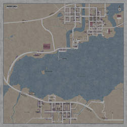 Map of Silent Hill by Leviathanapsu