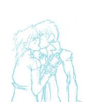 Puppyshipping Kiss by iDontCare12344