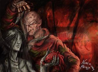 Dark and Nightmare by nuriaabajo