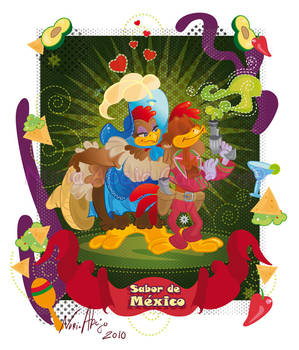 Three Caballeros - Panchito by nuriaabajo