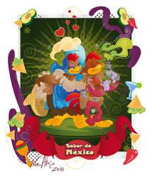Three Caballeros - Panchito by nuriaabajo