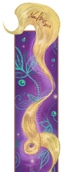 Tangled - Rapunzel by nuriaabajo
