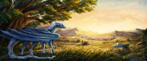 Blue Hasia by AkiramenaiAmaya