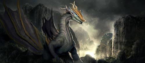 Forest Dragon by lorenzbasuki