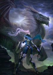 Undead Dragon by lorenzbasuki