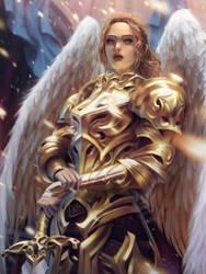 Archangel by lorenzbasuki