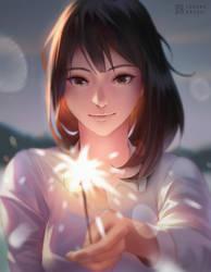 Sparklers by lorenzbasuki