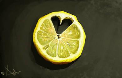 Still Life - Lemon by HarmNone