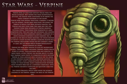 Star Wars - Verpine by Dreamisover