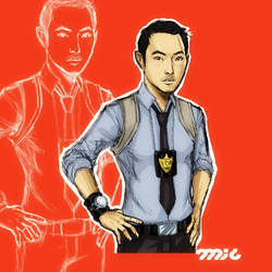 Ken Leung as Tony Chu by micQuestion