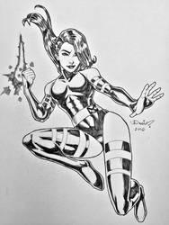 Psylocke by micQuestion