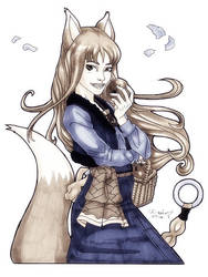 Commission: Holo by micQuestion