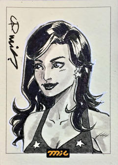Wonder Girl ACEO by micQuestion