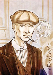 Commission: Tommy Shelby by micQuestion
