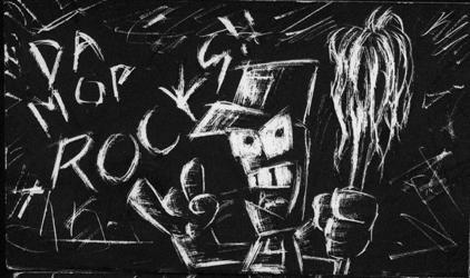 Da Mop Rocks by hooksnfangs