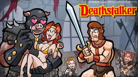 Titlecard: Deathstalker by hooksnfangs