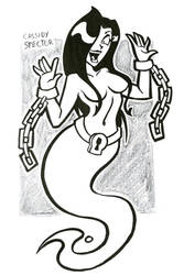 OC Doodles: Ghost Girl by hooksnfangs
