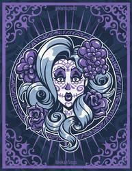 Sugar Skull Girl - Bria by hooksnfangs