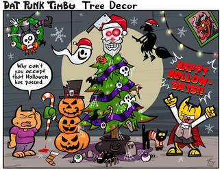 DPT: Tree Decor by hooksnfangs