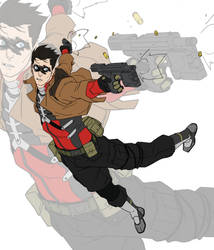 Red hood by ShaunONeil