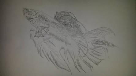 van gogh fish by EldenPhoenix
