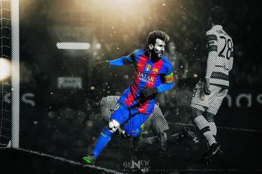 Lionel Messi Hd Desktop Wallpaper By Newgengfx On Deviantart