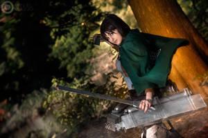 Sasha Braus. Shingeki no kyojin cosplay by Giuzzys