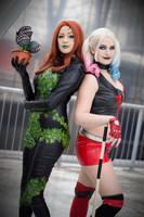 Gotham bitches. poison ivy, harley Quinn by Giuzzys