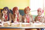 Doki doki literature club cosplay. by Giuzzys
