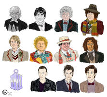 The 11 Doctors by MrOfir