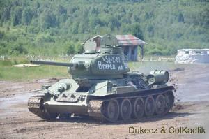 Bahna 2012 - T34-85 by Dukecz