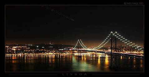 Lisbon at night 001 by In-Apt
