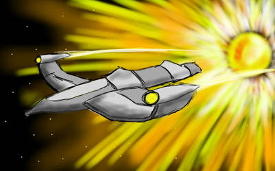 Futuristic Plane by popmaster6922
