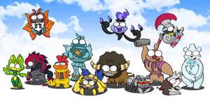 isshu pokemons BEAST 2 by c4tman